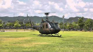UH-1 Huey Start up & Take off