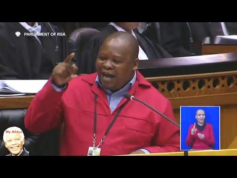 """Jacob Zuma Is NOT Welcome In Parliament"" EFF Hon Rawula"