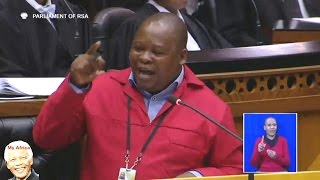 """Jacob Zuma Is NOT Welcome In Parliament"" EFF Hon Rawula"