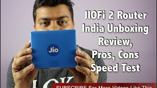 Hindi | JIOFi 2 Wifi Router India Unboxing, Pros, Cons, Should You Buy It | Gadgets To Use