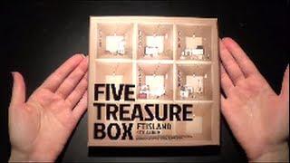 Unboxing FT Island 에프티 아일랜드 4th Album Five Treasure Box (Taiwan Limited Edition CD+DVD)