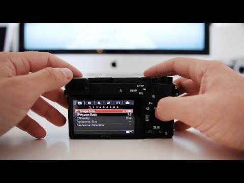 Sony A6300 Tutorial - How to set up Wifi