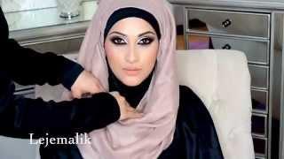 Quick & Easy Hijab Style & Bonus Back Draping Tutorial