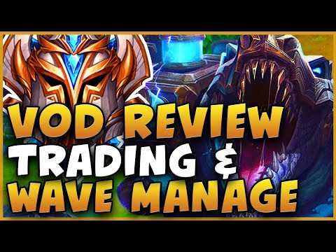 VOD REVIEW ON TRADING, WAVE MANAGEMENT, DENYING OPPONENTS, AND SNOWBALLING