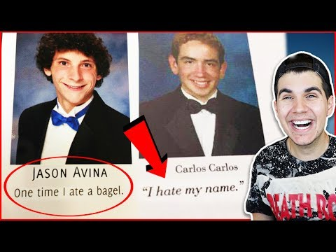 Funniest Senior Yearbook Quotes!