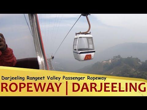 Darjeeling Ropeway | Cable Car Ride | Rangeet Valley - Darjeeling