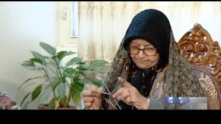 iran women knitted gloves hats for freedom fighters in syria iraq دستبافت زنان ايران