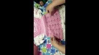 Платье крючком для девочки розовое [От безделья Рукоделие]