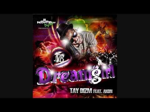 Tay Dizm (Ft. Akon) - Dreamgirl (Instrumental & lyrics) HD mp3