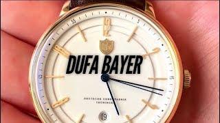 DUFA Bayer 9016-03 Bauhaus Dress Watch Review