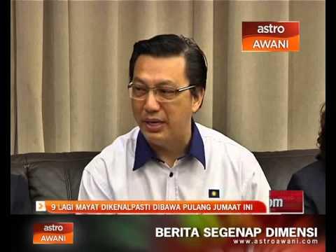 MH17: 9 lagi mayat dikenalpasti dibawa pulang Jumaat ini