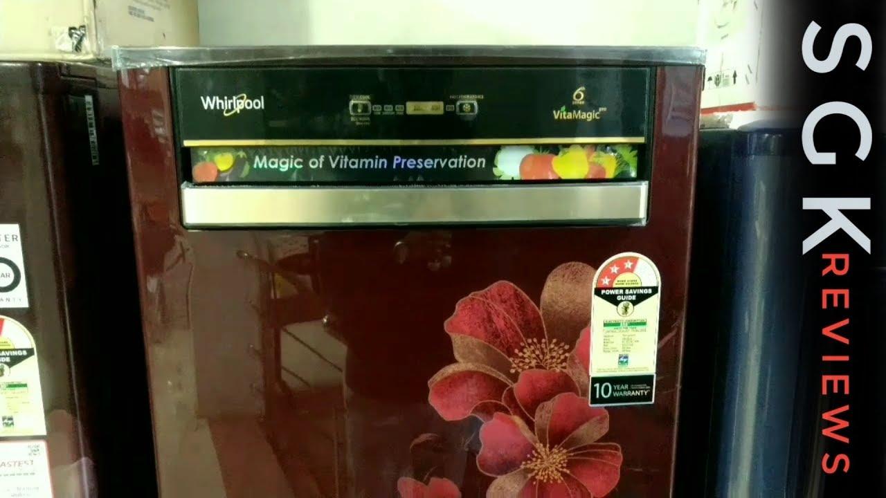 Whirlpool Vitamagic pro Refrigerator Demo and Review.