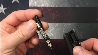 Sig Sauer P365 striker removal, cleaning and reinstallation