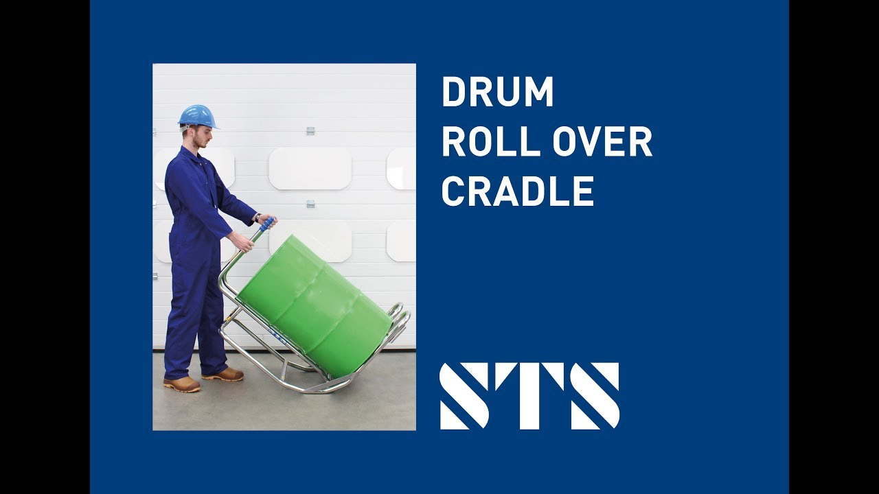 STS -Rollover Drum Cradle Drum Turner, Drum Cradle, Horizontal Drum (Model: DCR02)