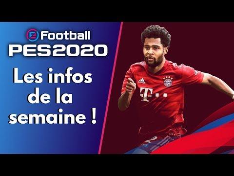 PES 2020 : Le journal de PES - Les infos de la semaine, veille de la Gamescom.
