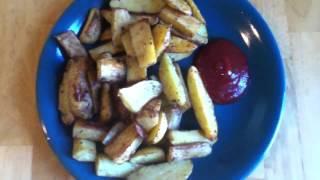 Gots To Eat: Seasoned Baked Potato Wedges