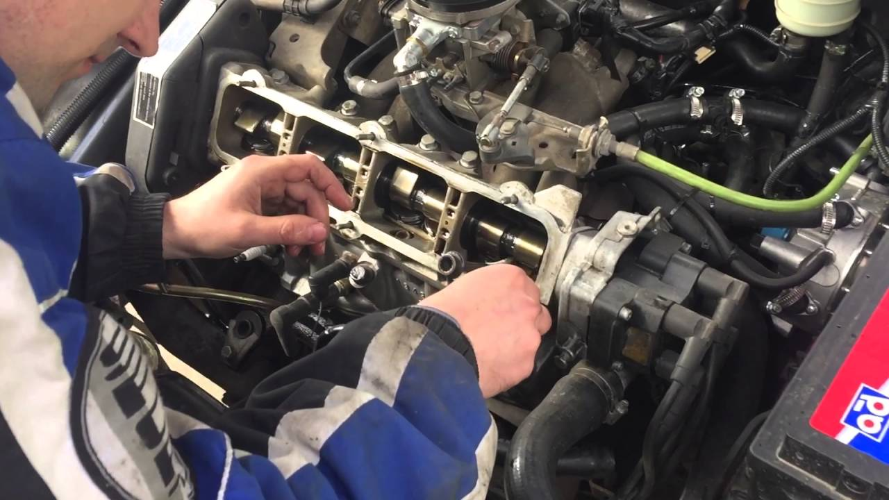 Регулирование клапанов Fiat Tipo, Tempra 1,6 8V - YouTube