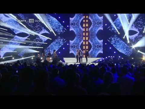 [HD] Tidligere Finalister - Without You   Stronger   X-Factor 2012 Finalen