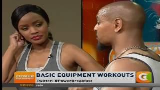 Power Breakfast: Basic equipment workouts