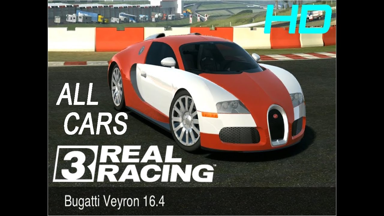 Real Racing All Cars Names Hd Youtube