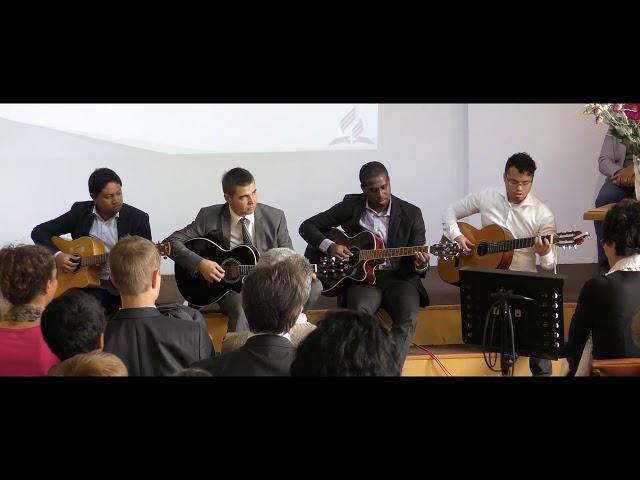 Fête de l'Amitié 2018 - quatuor de guitares