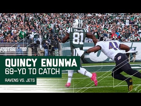 Geno Smith Hits Quincy Enunwa for a 69-Yard TD! | Ravens vs. Jets | NFL