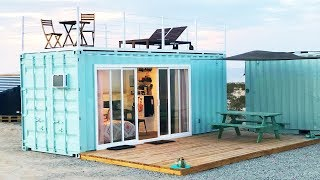 20ft Container Tiny House In Nevada