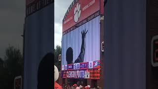 Clemson 4th quarter hype video
