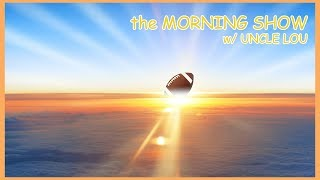LIVE | the MORNING SHOW w/ UNCLE LOU EP 23 - TENNESSEE VOLS FAN BVD, BURROW WINS THE HEISMAN