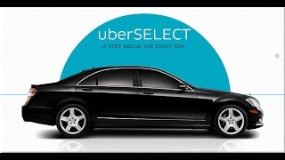 Ride share Advice:Uber X vs Uber Select Driving .What is the difference?