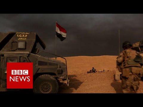 Mosul battle: Iraqi forces edge into city - BBC News