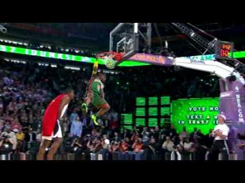 Nate Robinson Wins NBA All Star Weekend Slam Dunk Contest