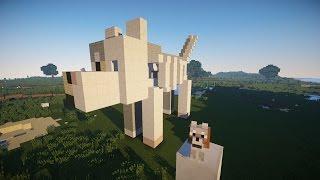СОБАКА В РАЗРЕЗЕ! Как построить статую собаки.
