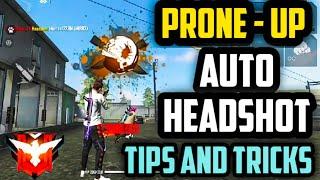 Auto Headshot New Tips and Tricks | Prone Up Headshot Trick Free Fire