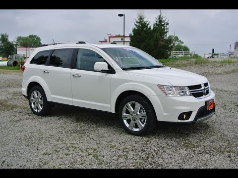 2014 Dodge Journey Limited SUV White for sale Dayton Troy ...
