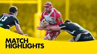 Exeter Chiefs vs Gloucester Rugby - Aviva Premiership Rugby 2013/14