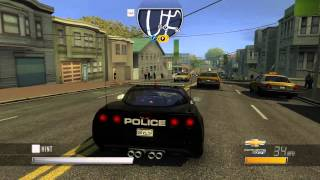 Driver: San Francisco - Chevrolet Corvette ZR1 Cop (2010)