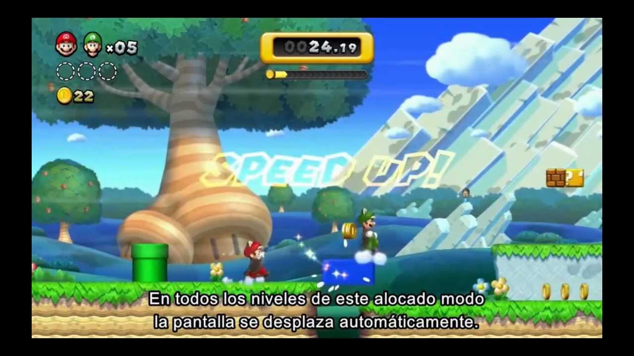 Nsmbu  Story And Game Modes (english + Español)  Youtube