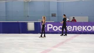 Софья Леонтьева и Даниил Горелкие Контрольные прокаты 2021