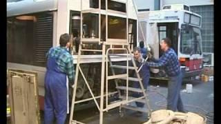 SOLARIS URBINO 12 Typ II / Buscrash im Depot 2 / 2