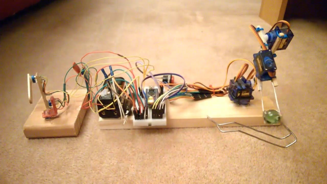 Arduino nano sg micro servo robot arm and code youtube