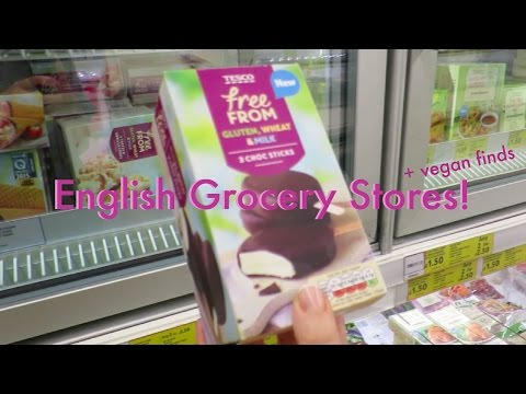 Backpacking UK & Ireland | Day 2: English Grocery Stores Expedition | Seb & Leah