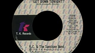 KC & The Sunshine Band ~ Get Down Tonight 1975 Disco Purrfection Version