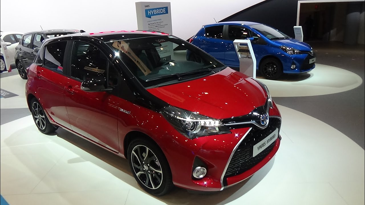 2016 Toyota Yaris Hybrid Exterior And Interior Auto
