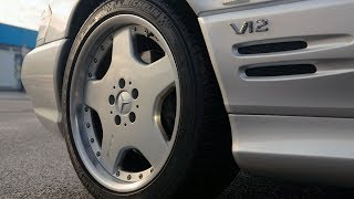1998 Mercedes-Benz SL 70 AMG with legendary V12 M120
