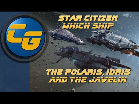 Which Ship Episode 3: The Polaris, Idris and Javelin