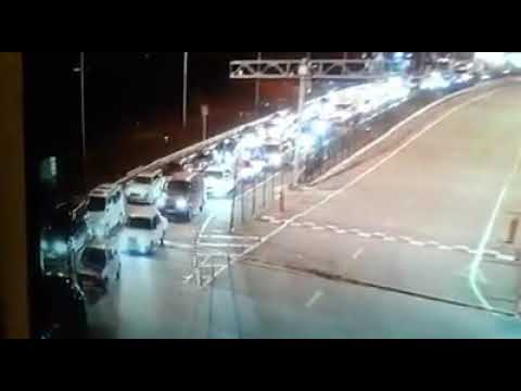 Traffic in the border with Russia to Abkhazia