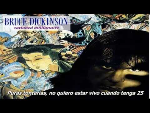 Bruce Dickinson - All The Young Dudes (subtitulado)
