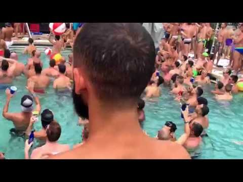 Double Tree Pool Party Gay Days 2016
