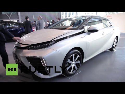 'Mirai': El primer auto con motor de hidrógeno sale a la venta en Japón